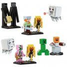 2017 Brand Compatible My World Minecrafted Toys Steve Zombie Enderman Ghast (1310)