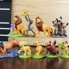 Cute 9pcs/lot PVC The Lion King Action Figure educational toys