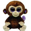 Original Ty Beanie Boos Big Eyes Plush Toy Doll Monkey Baby Kids Gift 15cm