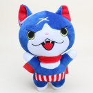 20cm Yo-Kai Watch plush Doll Jibanyan Youkai keychain pendant Plush Toys with sucker