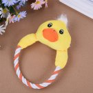 Dog Cat Toys Pets Puppy Interactive Plush Chew Squeaker Sound Toy (STE)
