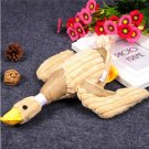 Pet Puppy Dog Chew Sound Squeaky Plush Sound Duck Toys Funny Soft Pets