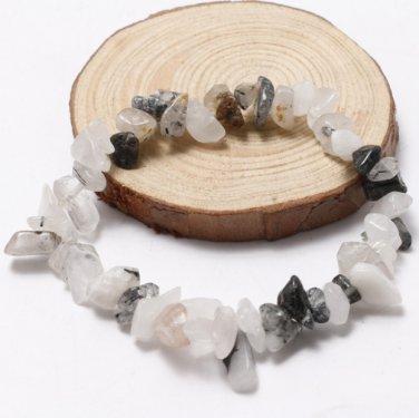 Handmade Crystal Chip Stretch Gift Charm Reiki Healing Bracelet Bracelet (3)