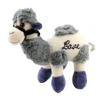 30cm Novel soft Blue animal character companion Camel short plush stuffed toy