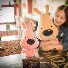 50cm Pink Cute Dog Pet Puppy Plush Toys Kids Soft Pillow Children Doll Stuffed Animal