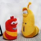 30cm Red Larvar Fun Insect Slug Creative Larva Plush Toys Stuffed Doll