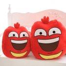 Red Larvar 42cm Fun Insect Slug Creative Larva Plush Toys Stuffed Dolls