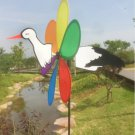 3D Cute Large Animal woodpecker Windmill Wind Spinner Whirligig Yard Garden Decor New