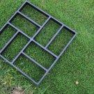 Plastic path maker mold 43.5*43.5cm manually paving cement brick stone road concrete molds (B)