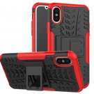 Cover For Apple iPhone 8 Case 5.8'' for iPhone8 Cover Rugged Armor Mobile Phone Cases (Red)