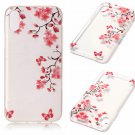 iPhone 8 Case New Arrival Hot Soft TPU Flowers Butterfly Painted Phone Skin Transparent Clear (6)