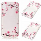 iPhone 8 Case New Arrival Hot Soft TPU Flowers Butterfly Painted Phone Skin Transparent Clear (10)