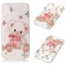 iPhone 8 Case New Arrival Hot Soft TPU Flowers Butterfly Painted Phone Skin Transparent Clear (9)