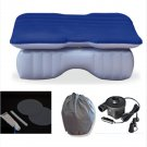 Car Travel Inflatable Mattress Car Inflatable Bed Air Bed Cushion Thickening sex sleep (Dark blue)