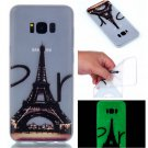 Samsung S8 Plus Case Cute Cartoon Soft Silicone TPU Back Luxury Luminous Phone Cover (2)
