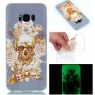 Samsung S8 Plus Case Cute Cartoon Soft Silicone TPU Back Luxury Luminous Phone Cover (5)