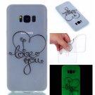 Samsung S8 Plus Case Cute Cartoon Soft Silicone TPU Back Luxury Luminous Phone Cover (10)