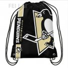 35*45 cm Knitted Polyester Pittsburgh Penguins Big Logo sports drawstring backpack