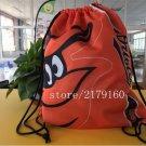 35*45 cm digital printing Baltimore Orioles drawstring backpack Metal Grommets