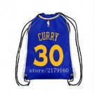 Knitted polyester mateial number 30 player curry Golden State Warriors backpack Metal Grommets