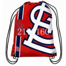 Digital printing 35*45 cm knitted polyester St Louis Cardinals backpack bagsin