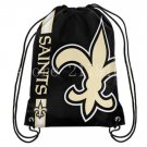 35*45 cm New Orleans Saints sports drawstring backpack with grommets