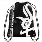 35*45 cm 110g knitted polyester Chicago White Sox backpack bagsin school bag sports bag