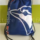 35*45 cm knitted polyester blue jays digital printed backpack Metal Grommets