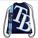Factory promotion 35*45 cm knitted polyester Tampa Bay Rays backpack sports bag
