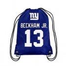 NY New York Giants Big Logo Side Stripe DrawString Backpack Backsack Bag