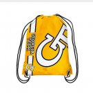 35*45 cm Knitted Polyester Georgia Tech Yellow Jackets Big Logo Backpack Backsack