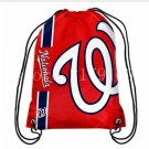 35*45 cm knitted polyester red color Washington Nationals backpack bagsin
