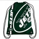 35*45 cm free shipping team color sport New York Jets drawstring backpack