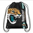 35*45 cm knitted polyester black bag Jacksonville Jaguars drawstring backpack