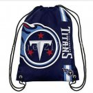 35*45 cm outdoor sport bag Tennessee Titans drawstring backpack with grommets