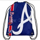 35*45 cm knitted polyester Atlanta Braves backpack bagsin with Metal Grommets