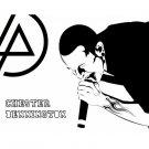 Chester Bennington Vinyl Wall Stickers Superstar Rock Linkin Park Wall Decal 76x57cm