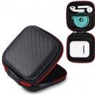Case box for Apple Airpods Earphones Case Box Pocket Holder EVA Carrying Black