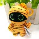 2017 New Ty Beanie Boos Plush Toy Mask Mummy Clip Small Pendant Cute Stuffed