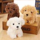 Quality 3Colors Dog Plush Toys 10CM height Kid's Gift Plush Stuffed Dog toys key chain Dog