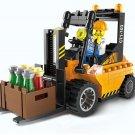 115pcs/set Forklift Trucks Assembly Building Blocks Kits Children Educational Puzzle Toys