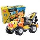 Enlighten Child Educational Toys Building Block Sets 52pcs Jigsaw DIY Bricks toys