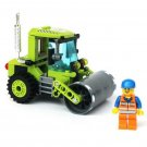 102pcs/set Small Size Engineering Vehicles Roller Assembly Building Blocks Kit toy