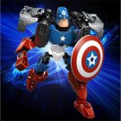 Avengers Hero Captain American Puzzle Action Figure Toy Building Blocks