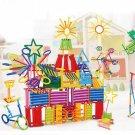 256pcs Kids DIY Creative Intelligence Sticks Blocks Plastic Early Educational Magic