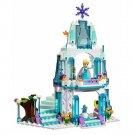 Girls DIY Dream Castle Princess Elsa Building Blocks Children Educational Assembling