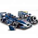 196pcs/set F1 Racing Car Building Blocks Toy Car Action Figure Toy