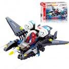 Spider-Man Fighter DIY Building Blocks Toys Mini Airplane Action Figure Children Puzzle Toys