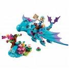 214pcs/set The Water Dragon Adventure Building Bricks Blocks DIY Educational Toys