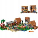 My World The Village Minecraft Model building kits blocks Educational anime action figures